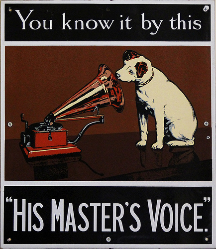 his masters voice copy